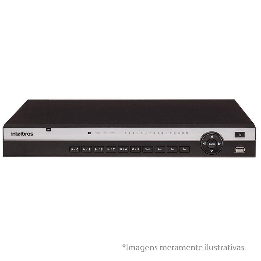 NVD Gravador digital de vídeo 16 canais até 8 Megapixels H.265 NVD 3116 intelbras 4k - JS Soluções em Segurança