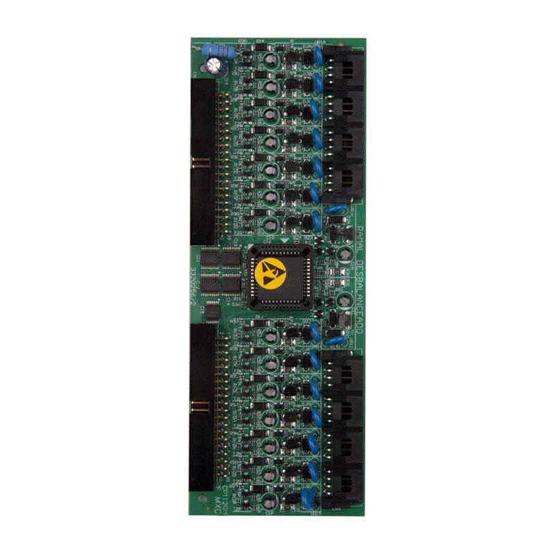 Placa de 16 ramais desbalanceados Intelbras CP 48 e CP 112 - JS Soluções em Segurança