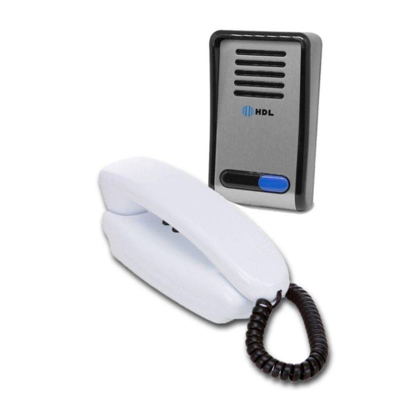 Porteiro Eletrônico HDL com Interfone e 2 acionamentos F8-SNTL - JS Soluções em Segurança