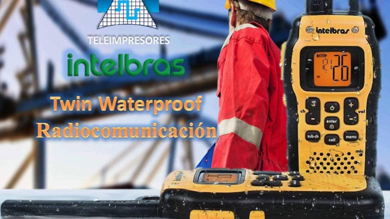 Radiocomunicador prova d'água e resistente à poeira Twin Waterproof - JS Soluções em Segurança