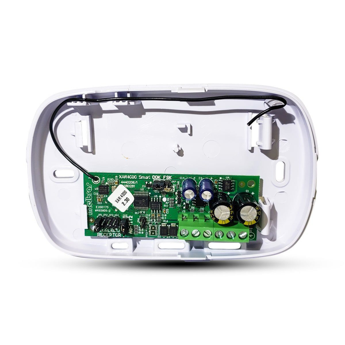 Receptor para central de alarme intelbras séries 2000 e 4000 -  anti sabotagem XAR 4000 SMART - JS Soluções em Segurança