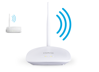 Roteador Wireless com IPv6 150 Mbps IWR 1000N intelbras - JS Soluções em Segurança