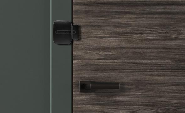 Sensor de abertura magnético sem fio intelbras XAS LIGHT Black GAP de abertura 20mm - JS Soluções em Segurança