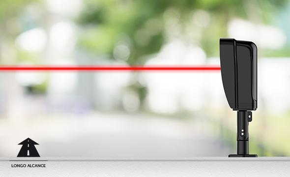 Sensor de barreira infravermelho ativo intelbras com suporte IVA 5080 AT  - JS Soluções em Segurança