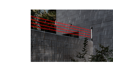 Cerca Virtual sensor de infravermelho ativo 4 feixes 100mts intelbras IVA 7100 quad  - JS Soluções em Segurança