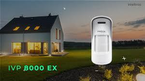 Sensor de movimento infravermelho passivo sem fio 600mts 30kg 110º externo intelbras IVP 8000 EX - JS Soluções em Segurança