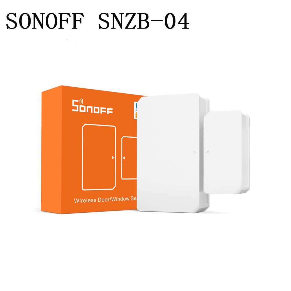 Sensor de porta e janela sem fio ZigBee SONOFF SNZB-04  - JS Soluções em Segurança