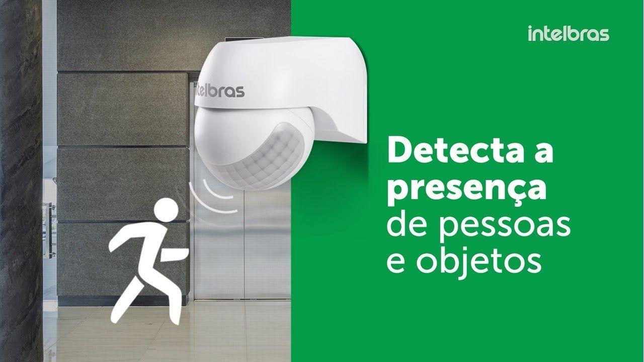 Sensor de presença para iluminação intelbras fotocélula 12mts 180° ESP 180 - JS Soluções em Segurança