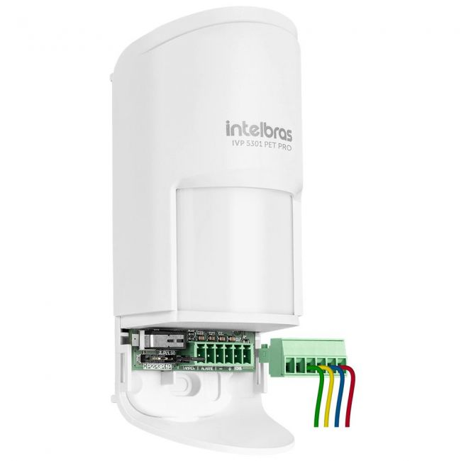 Sensor Infravermelho Passivo IVP 5301 PET PRO intelbras  PET Immunity 20kg - JS Soluções em Segurança