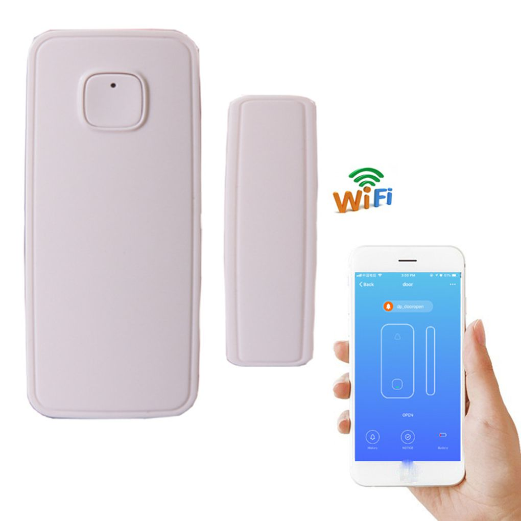 Sensor magnético porta & janela inteligente Wi-Fi Smart Life - JS Soluções em Segurança