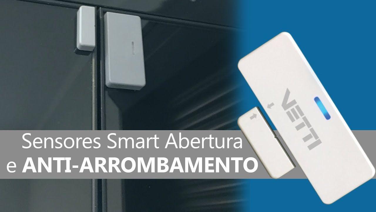 Smart Sensor de abertura  e impacto LR-SHOX Vetti - JS Soluções em Segurança