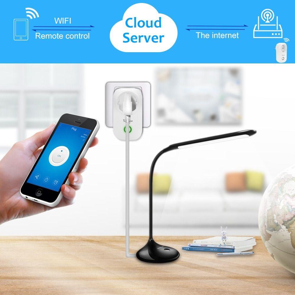 Tomada inteligente Wi-Fi Sonoff padrão brasileiro S26 TPN-BR 10A 2200W - JS Soluções em Segurança