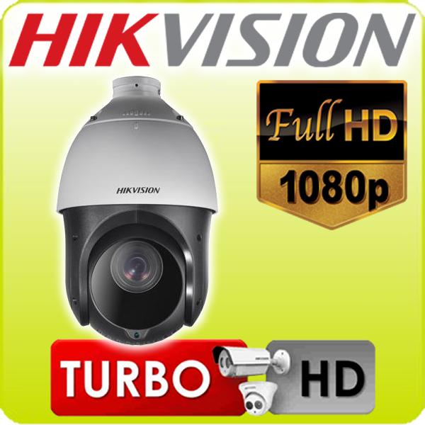 Speed Dome infra TVI e analógica 23X óptico Hikvision menu OSD protocolo intelbras zoom direto via cabo video Full HD 1920*1080p sem suporte - JS Soluções em Segurança