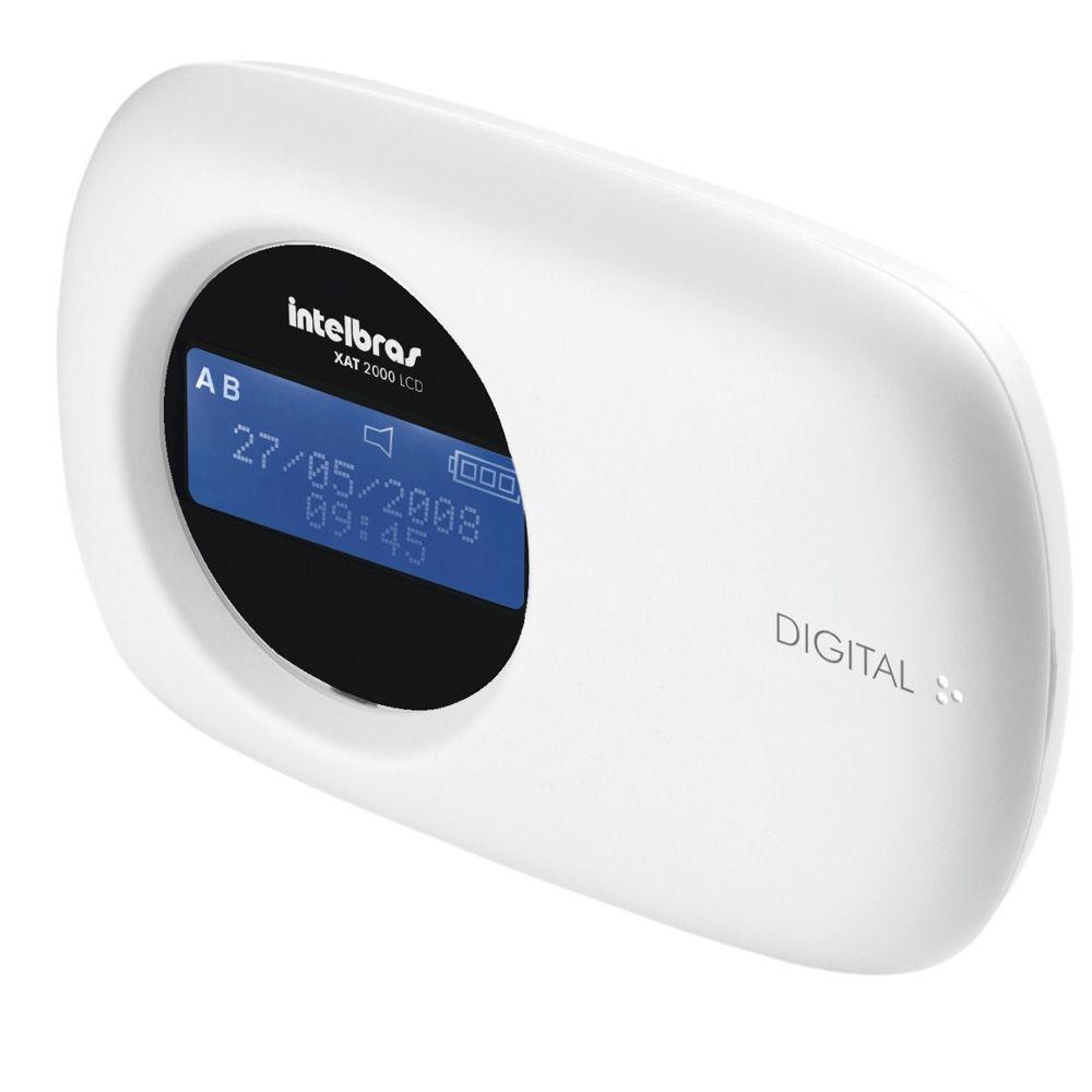 Teclado Digital LCD Intelbras para central de alarme monitoradas XAT 4000 LCD  - JS Soluções em Segurança