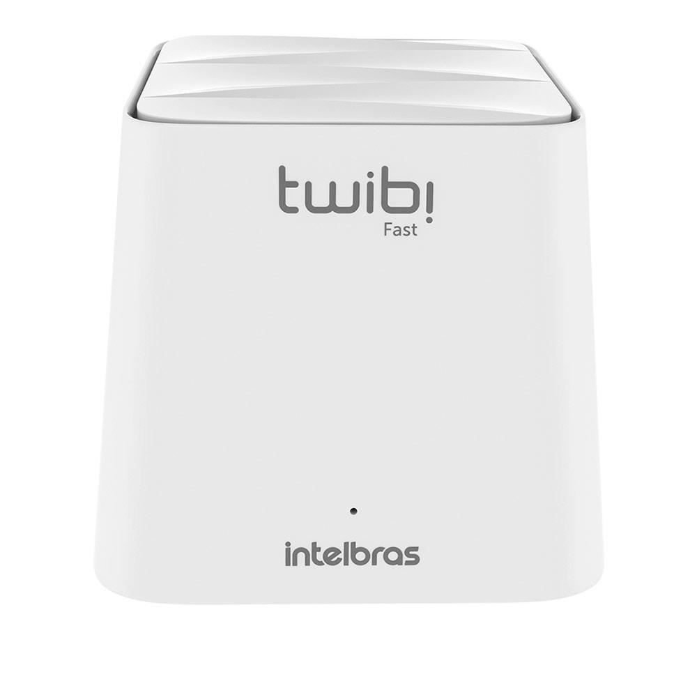 UNIDADE TWIBI FAST ROTEADOR 2.4 GHz: até 300 Mbps 5 GHz: até 867 Mbps Wi-Fi forte Mesh intelbras até 100 Mbps  - JS Soluções em Segurança