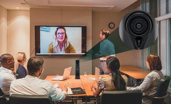 Videoconferência Full HD USB intelbras EVC 300 USB - JS Soluções em Segurança