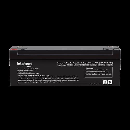 XB 1223 Bateria de chumbo-ácido 12V  2.3A (P/ Caixa eletrônico / Caixa registradora / Central de alarme de incêndio / Relógio-ponto) - JS Soluções em Segurança