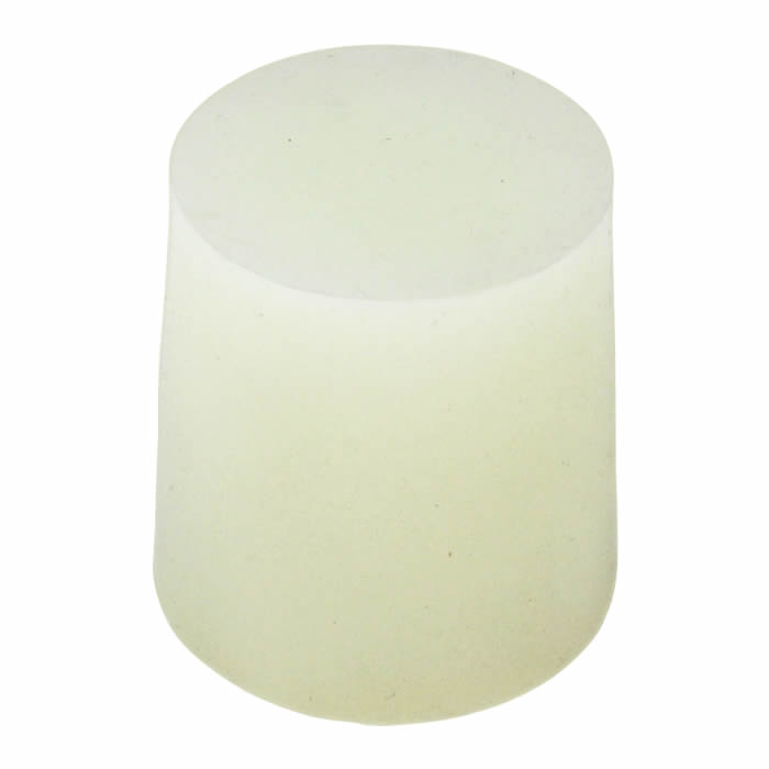 Rolha de Silicone Nº8 (25,2 x 20,5 x 31,8 mm) - Embalagem com 10 peças