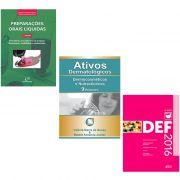 Livros Ativos Dermatologicos 2016 + DEF 2016 + Preparações Orais 3ª Edição