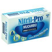 Luva de Nitrílica para procedimento sem Talco Nitril Pro 899 - Caixa com 100 unidades