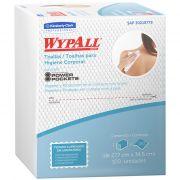 Wiper Wypall X60 Higiene Corporal (27,7x34,6cm)  Pacotes com 100 panos