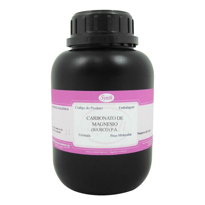 Carbonato de Magnésio (BÁSICO) P.A.