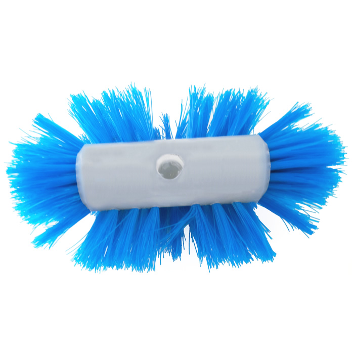 Escova para Lavagem de Tanques Cerdas em Nylon Azul