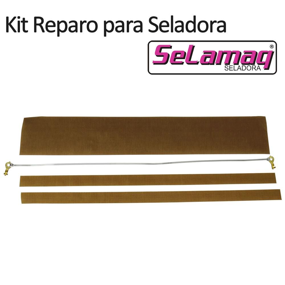 Kit Reparo (Resistência + Teflon) para Seladora Mini Plus 200 - 20cm