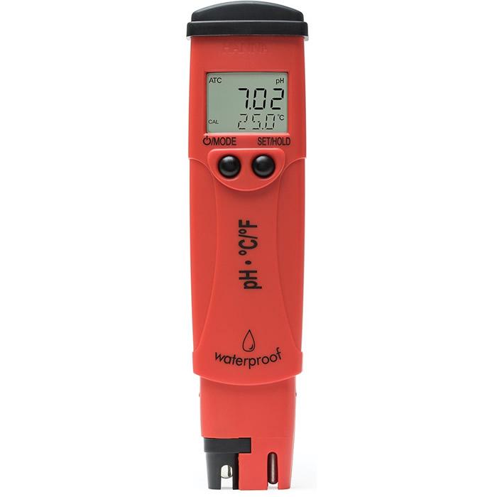 Medidor de pH e Temperatura de Bolso Calibração Automática pHep®5 Ref. HI 98128