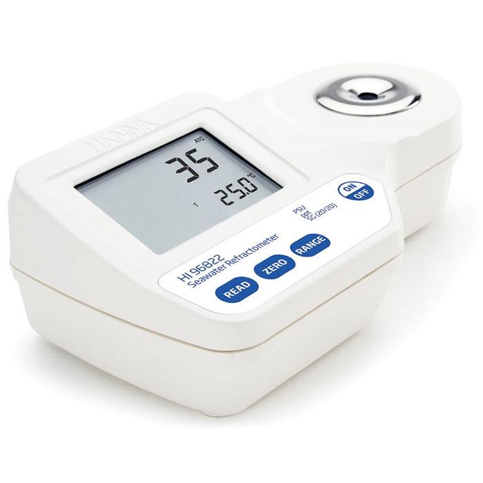 Refratômetro Digital Portátil para Salinidade Ref. HI 96822
