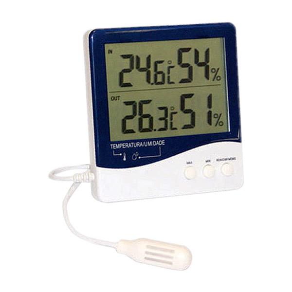 Termohigrometro Digital Temperatura e Umidade Interna/Externa Ref. 7664.01.0.00