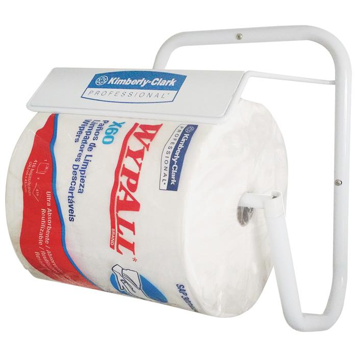 Wiper Wypall X60 Branco Rolo com 416 panos + Dispenser de Parede