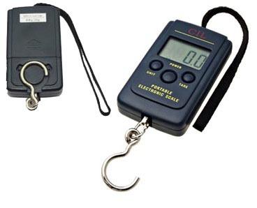 Balança digital portátil com gancho - Pesa até 40kg - RPC-COMMERCE