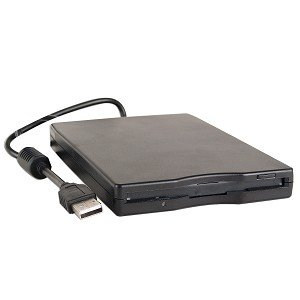 Drive De Disquete Externo Usb Para Notebook Ou Netbook - RPC-COMMERCE