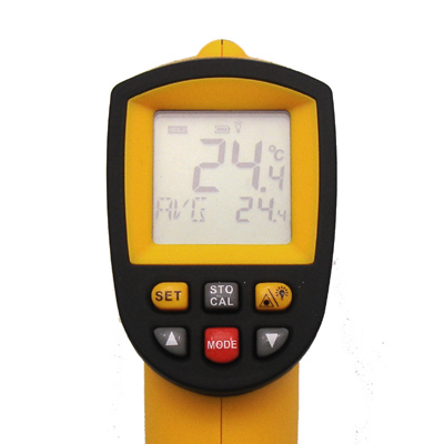 Termômetro Infravermelho Profissional (-50 a 900 ºC) - RPC-COMMERCE