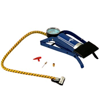 Bomba de ar com pedal para alta pressão com manômetro - RPC-COMMERCE