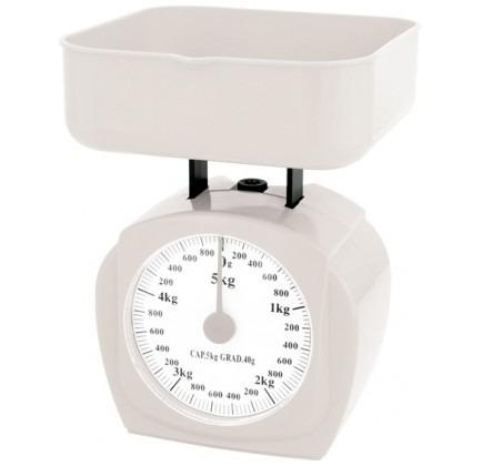 Balança de Cozinha Analógica c/ Bandeja Até 5kg Western KC05 - RPC-COMMERCE