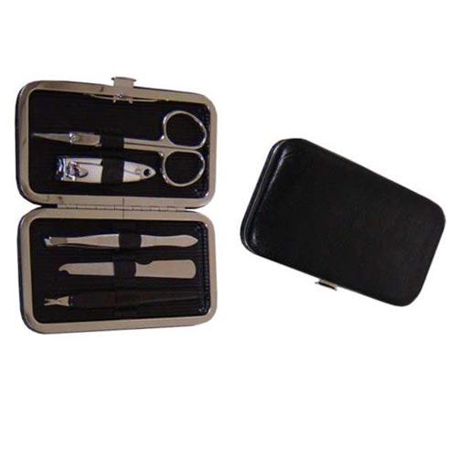 Kit manicure portátil com 5 peças em estojo - RPC-COMMERCE