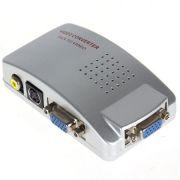 Conversor Pctv - Vga Para Rca / Svideo - Sinal De Vga P/ Tv - RPC-COMMERCE