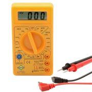 Multímetro Digital DT830B Com Cabo De Multi teste e Bateria