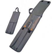Kit Churrasco com estojo - 3 peças com cabo de madeira - RPC-COMMERCE