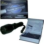 Lanterna Tática de Led Recarregável - 12000W/34000 Lúmens TD-69 - RPC-COMMERCE