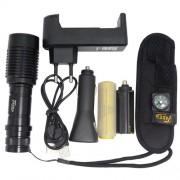 Lanterna Tática de Led Recarregável - 20000W/56000 Lúmens TD-36 - RPC-COMMERCE