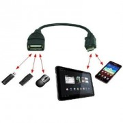 Cabo Adaptador USB Fêmea para V8 Galaxy S2 / S3 / Note - RPC-COMMERCE