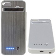 Capa Case Bateria Externa Iphone 5 Ultra Slim - 5000 mAh Branca - RPC-COMMERCE