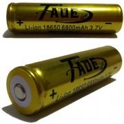 Bateria Taue 18650 8200mah 3.7v Li-ion - Recarregável - RPC-COMMERCE