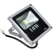 Refletor - Holofote Led RGB 10W - Controle Grátis 16 Cores - RPC-COMMERCE