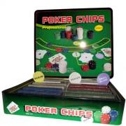 Kit Poker Profissional Super Luxo com toalha - 500 fichas - RPC-COMMERCE