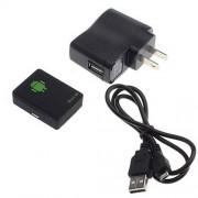 Mini escuta espião GSM A8 localizadora Gps botão SOS celular - RPC-COMMERCE