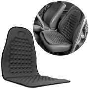 Capa Massageadora Assento Carro Encosto Cinza Universal - RPC-COMMERCE